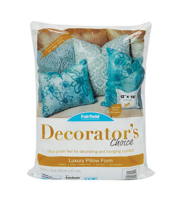 "Decorator's Choice Pillow 12"" x 16"""