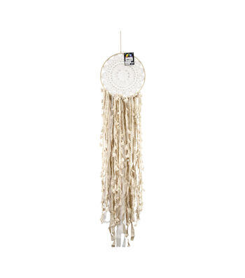 Touch of Nature 41'' Wood Ring Dreamcatcher Wall Hanging