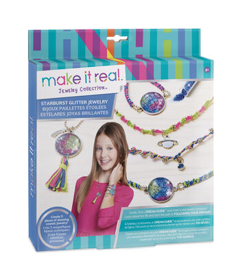 Make It Real Jewelry Collection Starburst Glitter Jewelry