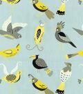 For The Birds/lemon Swatch