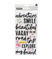 American Crafts Thicker Stickers-Chasing Adventures, , hi-res