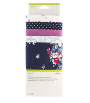 Cricut Designer Fabric Sampler-Blue Carolina, , hi-res