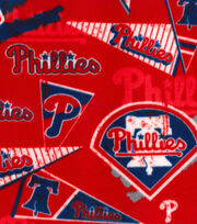 Philadelphia Phillies Fleece Fabric-Vintage, , hi-res
