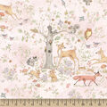 Susan Winget Cotton Fabric -Woodland Buddies