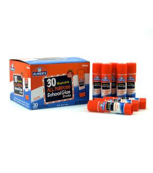 Elmer's 30 pk Washable All Purpose School Glue Sticks