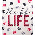 No Sew Fleece Throw-Ruff Life
