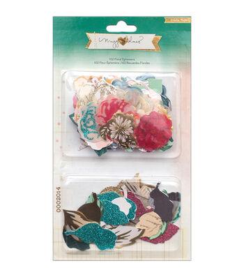 Crate Paper Maggie Holmes Open Book Floral Ephemera Cardstock Die-Cuts