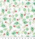 Kathy Davis Cotton Fabric -Melody Pine