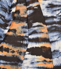 Silky Prints Yoryu Fabric 54\u0022-Blue & Orange Tie Dye