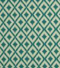 Robert Allen @ Home Upholstery Fabric 54\u0022-Ikat Fret Tourmaline