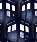 Doctor Who Cotton Fabric -Tardis