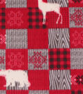 Anti-Pill Plush Fabric 58\u0022-Aspen Patch
