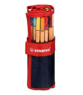 Stabilo 88 Point Navy Pen Set-Multi 25/pk