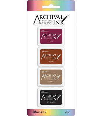 Archival Mini Ink Pad Kits-Kit 2