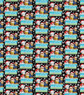 Nick Junior Paw Patrol Cotton Fabric-Merry Christmas