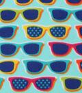 Blizzard Fleece Fabric 59\u0022-Sunglass Fun