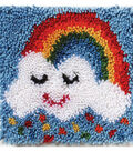 Wonderart Latch Hook Kit 12\u0022X12\u0022-Rainbow Sprinkles