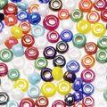 Darice Opaque Glass Seed Beads-100gr/Rainbow