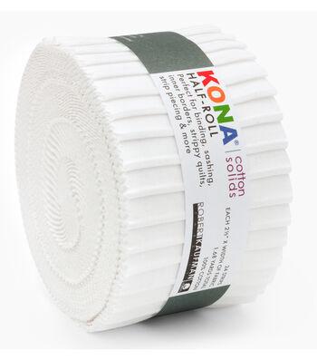 Kona Fabric Roll-White