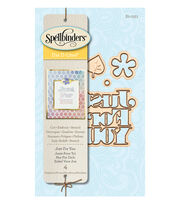 Spellbinders 4 Pack Etched Die D-Lites-Just For You, , hi-res