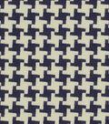 Home Decor 8\u0022x8\u0022 Fabric Swatch-Robert Allen Square Pegs Navy