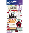 Sticko 142 Pack Flip Stickers-Doggies