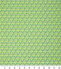 Keepsake Calico Cotton Fabric-Light Green Faceted Geometric