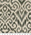 Williamsburg Multi-Purpose Decor Fabric 54\u0027\u0027-Zinc Thompson Ikat