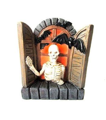 Maker's Halloween Littles Skeleton in Window