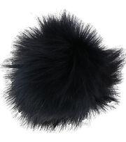 Bergere De France Synthetic Fur Pom Pom-Blue, , hi-res