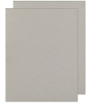 "We R Memory Keepers 8-1/2""x11"" Cinch Book Board-2PK/Grey"