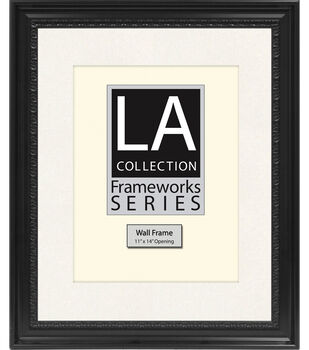 LA Collection Frameworks Series Wall Frame 16''x20''-Black