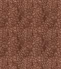 Premium Prints Cotton Fabric-Brown Dried Mud