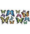 Wall Pops Butterfly Appliques, 27 Piece Set