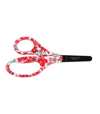 """Designer Non-Stick Blunt-Tip Kids Scissors 5""""-Assorted Designs"""