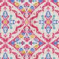 Kelly Ripa Home Upholstery Fabric 9\u0022x9\u0022 Swatch-Seen & Heard Petunia