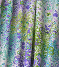 Home Essentials Decor Fabric-Violet Pitter Patter