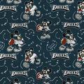 Philadelphia Eagles Cotton Fabric-Mickey Mouses