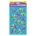 Terrific Turtles superShapes Stickers-Large 168 Per Pack, 6 Packs