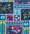 Snuggle Flannel Fabric 42\u0022-Framed Floral