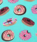 Anti-Pill Fleece Fabric 59\u0022-Donuts With Sprinkles