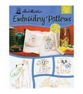 Aunt Martha\u0027s Colonial Patterns Iron-On Transfer Books Playful Puppies