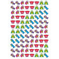 Frog Fun superShapes Stickers 800 Per Pack, 12 Packs