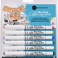 Manuscript Crafter Callicreative 6 pk Decorative Italic Markers-Assorted
