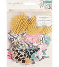 Maggie Holmes Flourish Ephemera Cardstock Die-Cuts-Accents with Gold