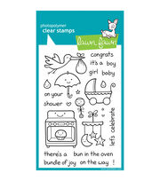 "Lawn Fawn Clear Stamps 4""X6""-Plus 1, , hi-res"
