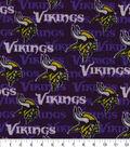 Minnesota Vikings Fleece Fabric-Sweater