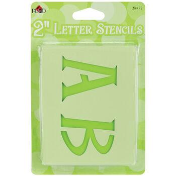 """Mailbox Letter Stencils-Genie Letter 2"""""""