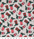 Christmas Cotton Fabric 43\u0022-Holiday Cowboy Boots