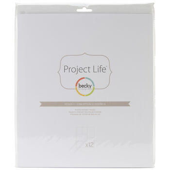 Project Life Photo Pocket Pages 12/Pkg-Design G
